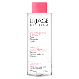 ЮРИАЖ Термална мицеларна вода за кожа, склонна към зачервявания 500мл | URIAGE Thermal micellar water for skin prone to radness 500ml