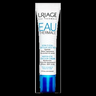 ЮРИАЖ ЕУ ТЕРМАЛ Околоочен термален хидратиращ крем 15мл | URIAGE EAU THERMALE Water eye contour cream 15ml