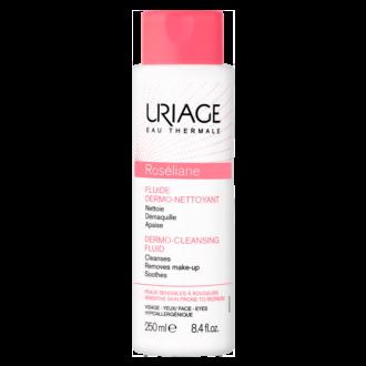РОЗЕЛИАН Почистващ флуид за чувствителна кожа 250мл ЮРИАЖ | ROSELIANE Dermo-cleansing fluid 250ml URIAGE
