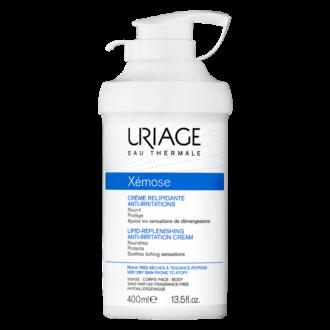 ЮРИАЖ КСЕМОЗ Липидо-възстановяващ крем за суха кожа с раздразнения 400мл | URIAGE XEMOSE Lipid-replenishing anti-irritation cream 400ml