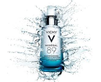 ВИШИ МИНЕРАЛ 89 Укрепващ ежедневен гел-бустер 50мл | VICHY MINERAL 89 Fortifying daily skin booster 50ml