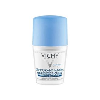 ВИШИ Дезодорант рол-он минерал против изпотяване без алуминиеви соли 50мл | VICHY Deodorant anti-perspirant mineral no aluminum salts 50ml