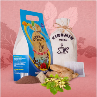 ВИРУМИН-ВИТАЛ филтърни торбички 120бр x 2.5гр (300гр общо) ПВМ ГАМА | VIRUMIN-VITAL filter bags 120s x 2.5g (300g total) PWM GAMA