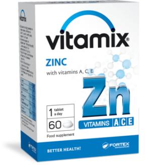 ВИТАМИКС С ЦИНК 60 таблетки ФОРТЕКС | VITAMIX ZINC 60 tabs FORTEX