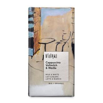 БИО Млечен Шоколад Капучино 100гр ВИВАНИ   BIO Chocolate Cappuccino 100g VIVANI