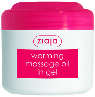 ЖАЯ Антицелулитно масажно олио в гел форма 180мл | ZIAJA Warming massage oil in gel 180ml