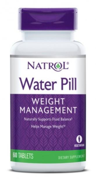 ВОДНО ХАПЧЕ против задържане на вода 60 бр. таблетки НАТРОЛ   WATER PILL tabs 60s NATROL