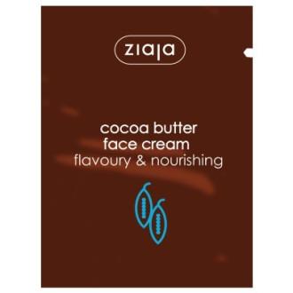 ЖАЯ Маска за лице с масло от какао 7мл саше | ZIAJA Cocoa butter face cream 7ml