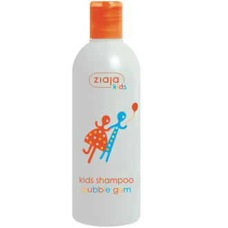 ЖАЯ За деца шампоан с аромат на дъвка 300мл | ZIAJA Kids shampoo bubble gum 300ml