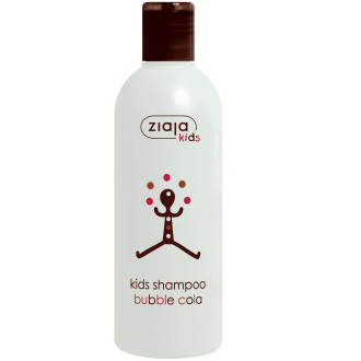 ЖАЯ За деца шампоан с аромат на кола 300мл | ZIAJA Kids shampoo bubble cola 300ml