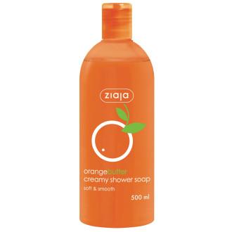 ЖАЯ Душ гел с масло от портокал 500мл | ZIAJA Orange butter creamy shower soap 500ml