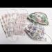 ДЕТСКА МАСКА ЗА ЛИЦЕ, Трипластова, за еднократна употреба, кутия 20 бр, избор от цветове ТАФПРИНТ | KIDS PROTECTIVE FACE MASK, Box of 20, colour mix TAFPRINT