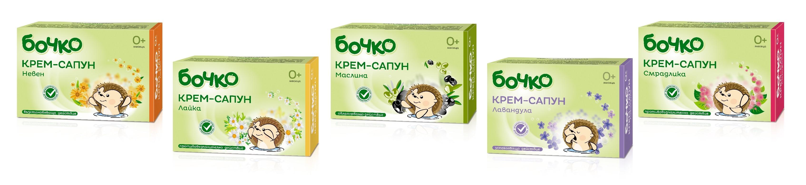 Bochko Krem Sapun 5 scents