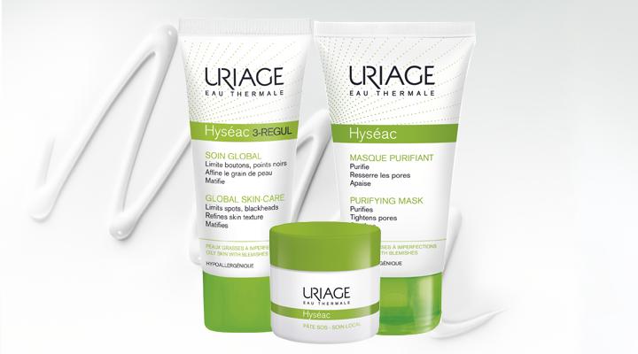 Всички продукти от серията HYSEAC на URIAGE в АптекаБГ